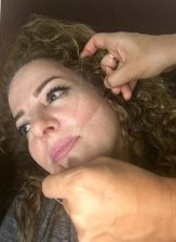 Facial threading by Parvin