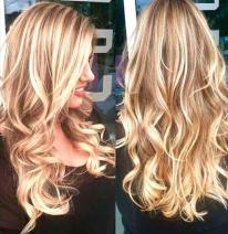 Beautiful in Blonde done by Pair by Parvin