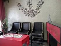 Fx Salon waiting area