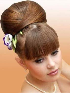 Updo by Parvin