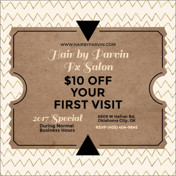$10 off your first visit | Hair by Parvin at Fx Salon