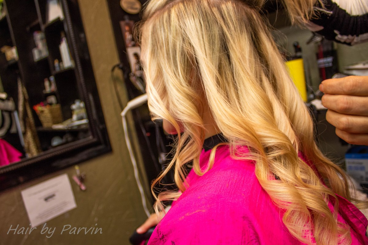 Hair by Parvin - Platinum Blonde