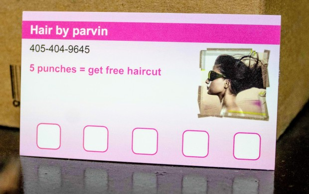 Loyal Customer Punch Card | Hair by Parvin